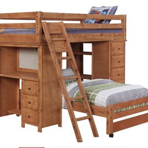 Twin Over Twin Loft Bed for Sale in Hoffman Estates, IL