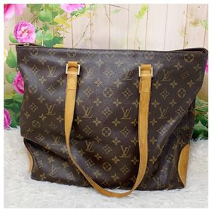 Authentic Louis Vuitton Monogram Cabas Mezzo for Sale in Westminster, CA