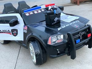 Police Car kid ride on car for Sale in Irvine, CA