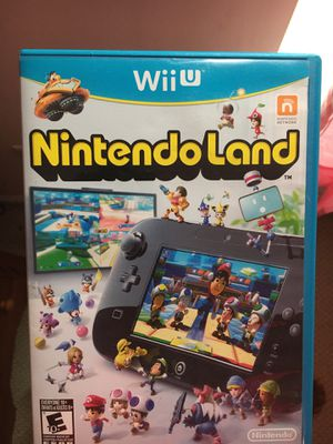 WII U NINTENDO LAND for Sale in Culpeper, VA