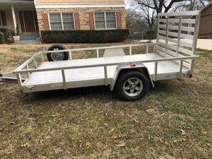 "6' 8"" wide X 12 ' Long aluminum trailer All Aluminum for Sale in Decatur, GA"
