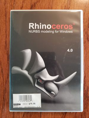 Rhino Version 4 Computer Modeling Software for Designers for Sale in Jacksonville, FL