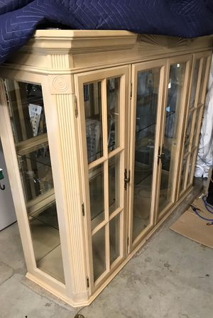  China Cabinet Top Hutch for Sale in Upland, CA