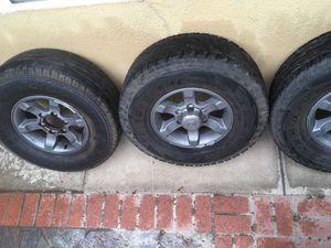 2004 Nissan Frontier 15in Rims/ Tires for Sale in Bakersfield, CA
