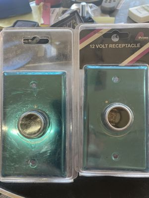 12 volt receptacles chrome price is for both for Sale in Queen Creek, AZ