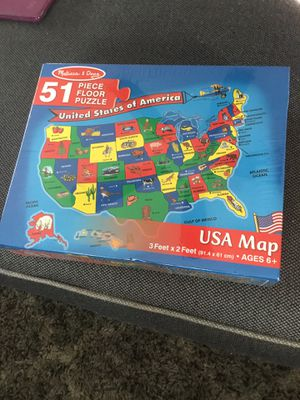 Melissa & Doug Puzzle for Sale in Maple Shade Township, NJ