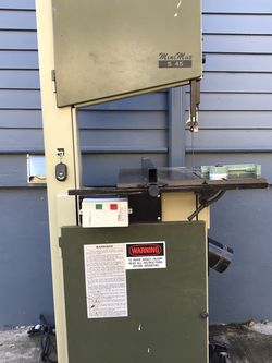 Minimax S45 Bandsaw for Sale in Milwaukie,  OR