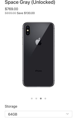 New Unlocked Iphone X for Sale in Pittsburgh, PA