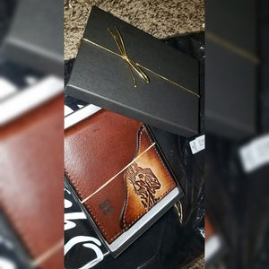 Leather fishing wallet for Sale in Shelbyville, TN