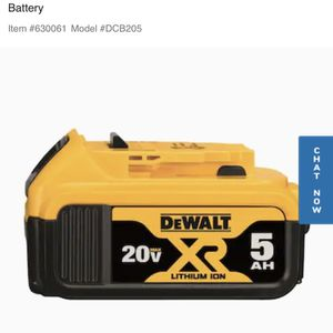 Dewalt Battery's 2 Brand New for Sale in Richmond, CA