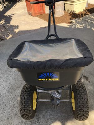 Heavy duty seed fertilizer spreader for Sale in San Jose, CA