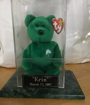 Erin beanie baby for Sale in Millers, MD