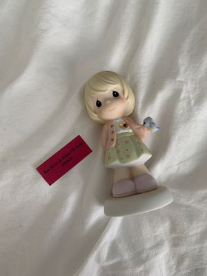 Precious Moments Porcelain Figurine: You Have a Heart of Gold for Sale in Tampa, FL