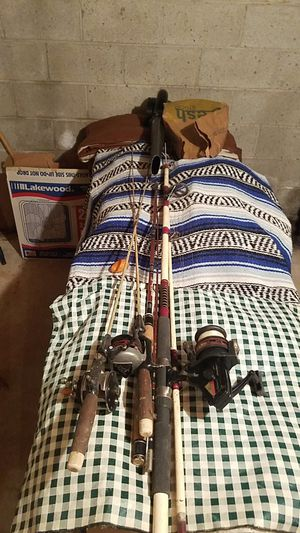 fishing rods (bundle of 4) $10/each or $35 for the bundle of 4 for Sale in Drexel Hill, PA