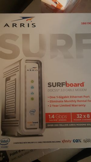 Arris surfboard docsis 3.0 cable modem for Sale in NEW CARROLLTN, MD