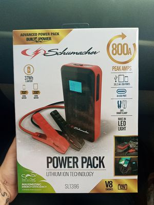 Shamacher power pack 800A jump box for Sale in West Linn, OR
