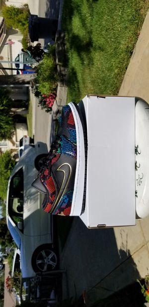 "Brand new Authentic Jordan 1 low ""snakeskin"" for Sale in Clovis, CA"