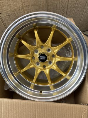 "New 15"" mst rims for Sale in Vernon, CA"