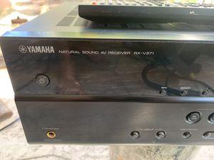 YAMAHA RX-v371 Natural Sound AV Receiver for Sale in North Fort Myers, FL