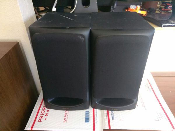 Onkyo Bookshelf Speakers. $30