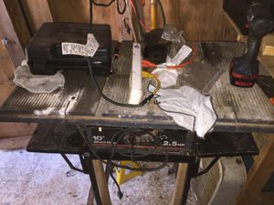 Table saws for Sale in Douglasville, GA