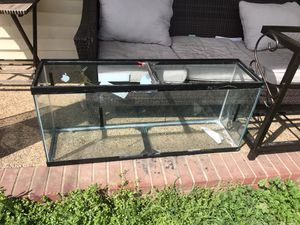 55 gallon fish tank for Sale in Nashville, TN