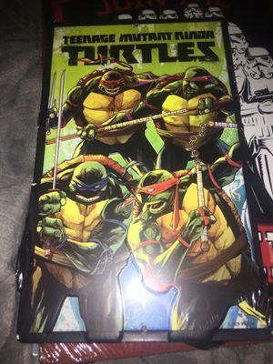 Teenage mutant ninja turtles metal sign decor 6x9.75in for Sale in North Brunswick Township, NJ
