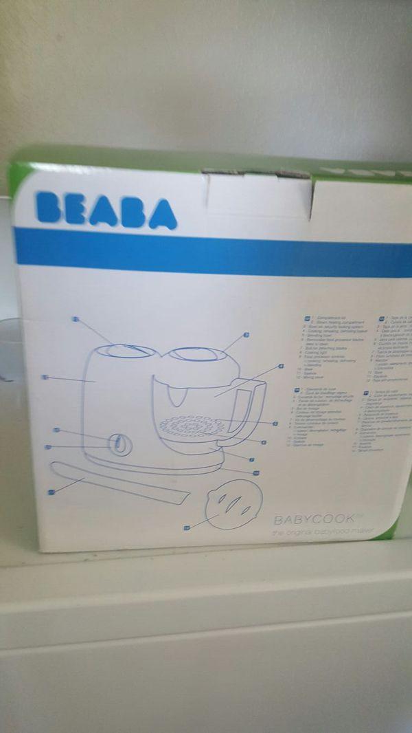 On beaba baby food steamer and blender