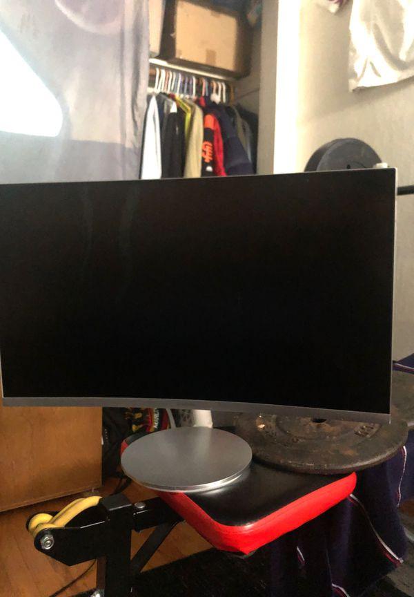 "Samsung Curve Gaming Monitor ""32 (Broken LCD)"