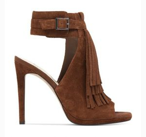 Jessica Simpson suede fringe shoes for Sale in Austin, TX