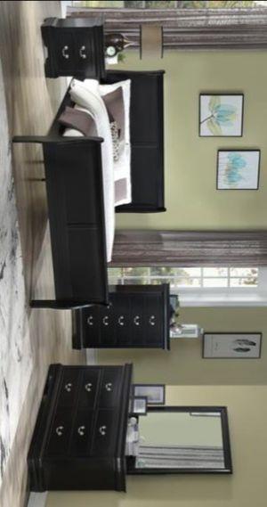 4pc Black Bedroom Set.. for Sale in Houston, TX