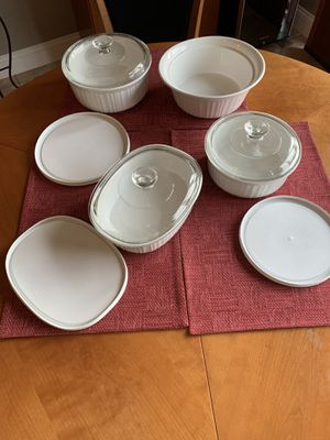 10 piece CorningWare French White Baking Set for Sale in Columbia, MO