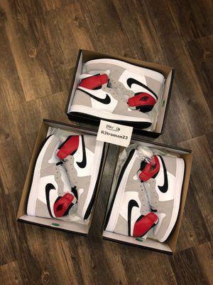 Nike Air Jordan 1 Retro High OG Smoke Grey GS 6Y 6.5Y for Sale in Etiwanda, CA