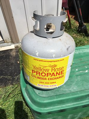 Propane tank for BBQ grill for Sale in Arlington, TX