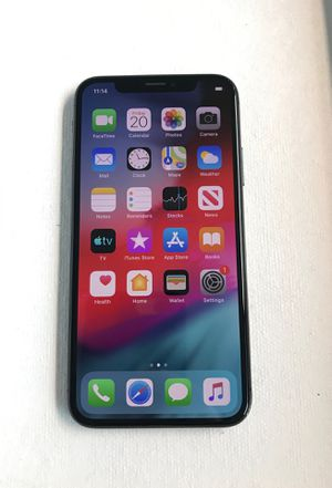 iPhone X 256GB Space Gray Unlocked for Sale in Seattle, WA