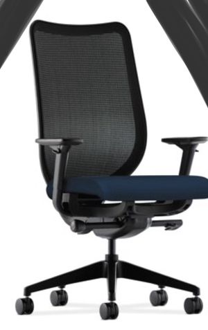 New!! Task chair, mesh back tall task chair, rolling chair, desk chair, office chair, executive chair, office furniture , navy and black for Sale in Phoenix, AZ