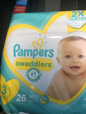 Pampers size 3 for Sale in Aurora, IL
