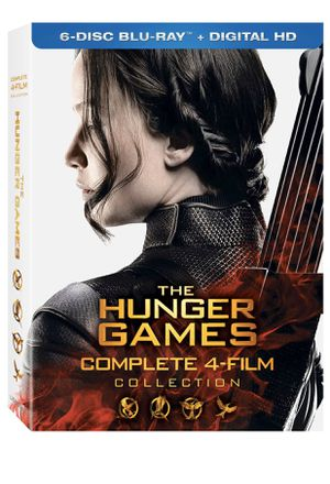 The Hunger Games Complete 4-Film Collection Digital Codes for Sale in Gardena, CA