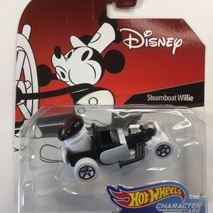 HOT WHEELS DISNEY STEAMBOAT WILLIE CHARACTER CAR for Sale in Philadelphia, PA