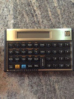 Used, HP financial calculator 12c for Sale for sale  Menifee, CA