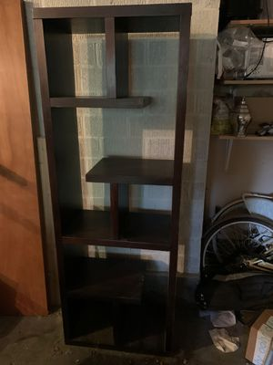 Bookcase dark brown. for Sale in Portland, OR