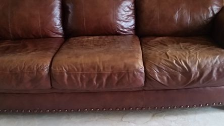 Leather Sofa And Love Seat Set for Sale in Fort Lauderdale,  FL