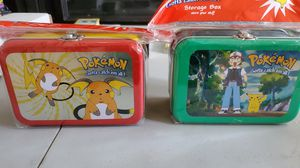 Pokemon lunch boxes. for Sale in Zephyrhills, FL