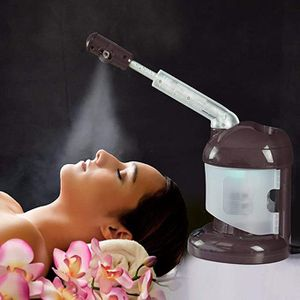 Facial Steamer with Extendable Arm, Ozone Table Top Mini Spa Face Steamer Design For Personal Care Home Use, Coffee … for Sale in Ontario, CA