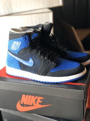 New unworn New Nike Air Jordan 1 Flyknit Royal size 11 for Sale in La Mirada, CA