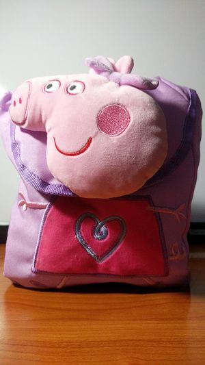 Peppa Pig kids mini tote backpack new for Sale in Los Angeles, CA