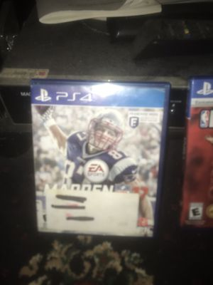 Madden 2k17 and NBA14 for Sale in St. Louis, MO