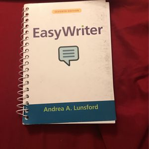 Easy Writer Seventh Edition for Sale in Pasadena, TX