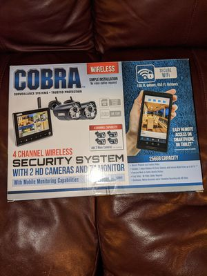 COBRA SECURITY CAMERA'S for Sale in Federal Way, WA