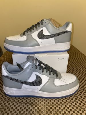 Christian Dior low Air Force 1 Af1 Low size 11 Nike By You jordan for Sale in Braintree, MA